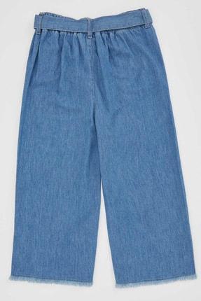 Defacto Kız Çocuk Mavi Kot Jeans 3