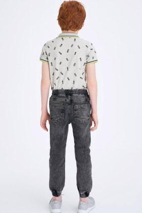 Defacto Erkek Çocuk Gri Kot Pantolon 2