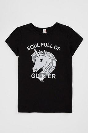 Defacto Unicorn Baskılı Kısa Kollu T-shirt 3