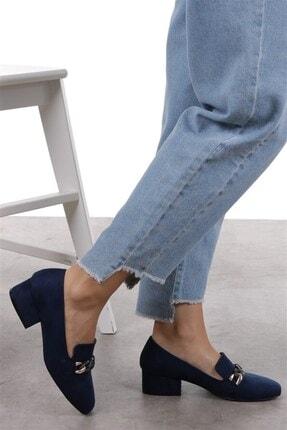 Mio Gusto Magnolia Lacivert Topuklu Ayakkabı 2