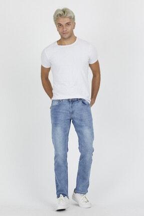 DAMGA JEANS Erkek Açık Mavi Rahat Kesim Pantolon 2