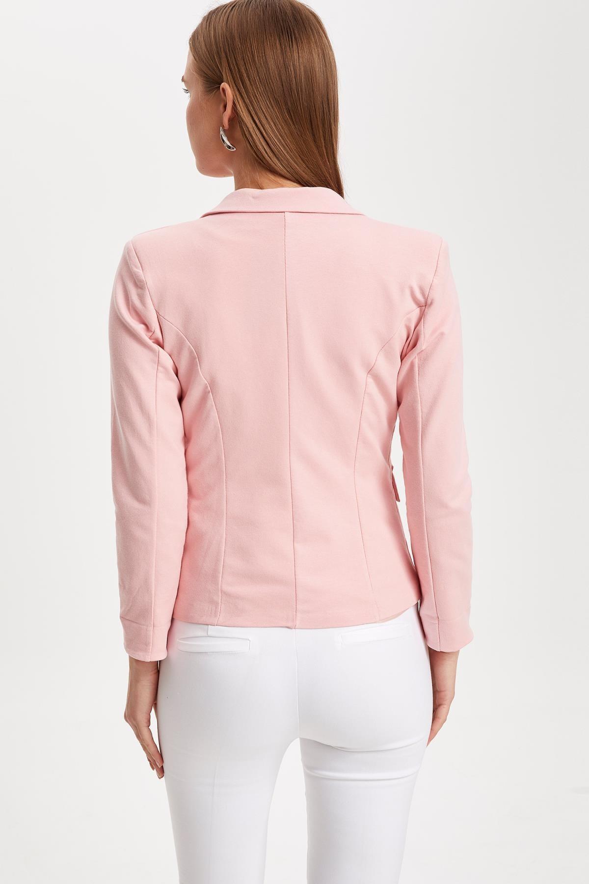 Defacto Kadın Pembe Blazer Ceket L1969AZ.19SM.PN368 3