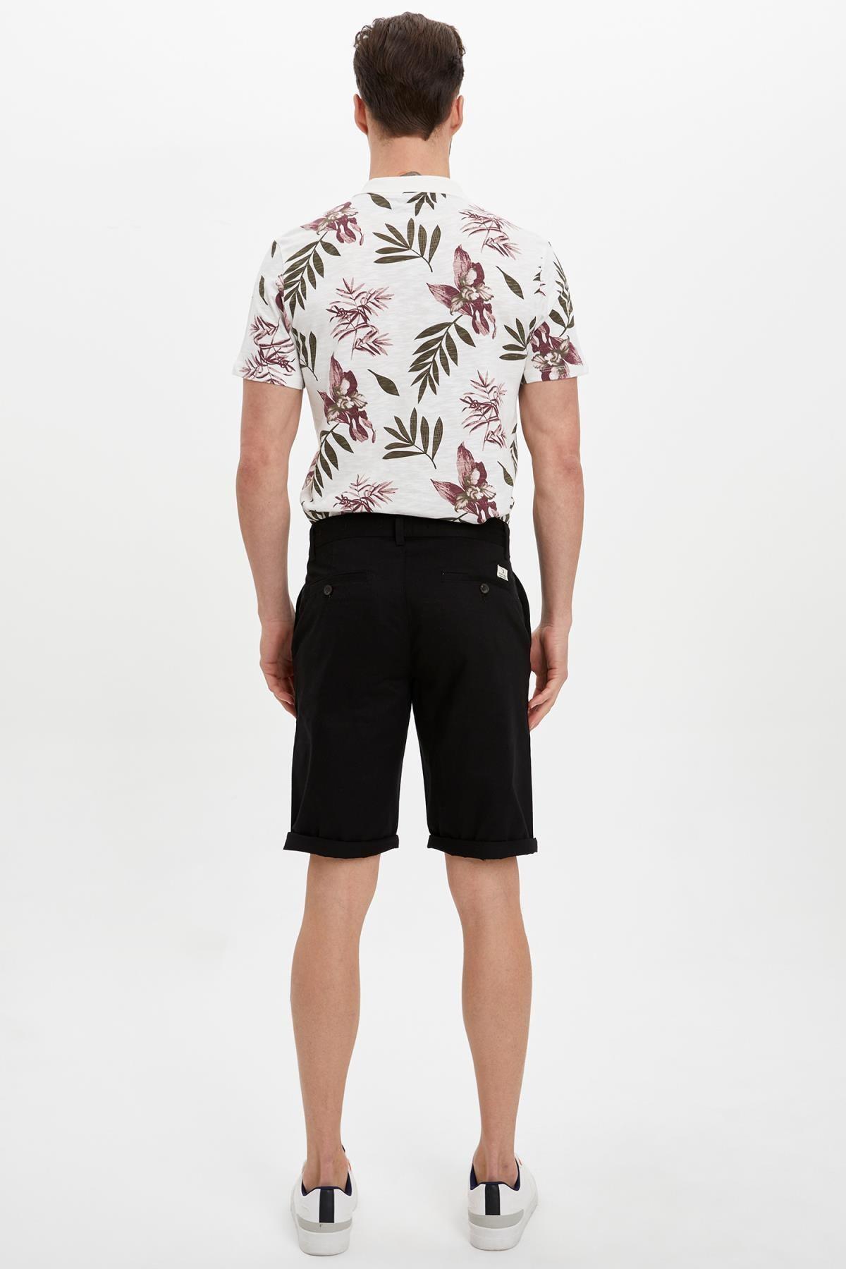 Defacto Erkek Beyaz Slim Fit Polo T-Shirt M3006AZ.19HS.WT32 2