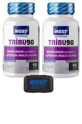 West Nutrition Tribu90 Tribulus Demir Dikeni Lepidyum Maca Panax Ginseng Ekstresi ve Sitrülin 2 90 Tablet 0