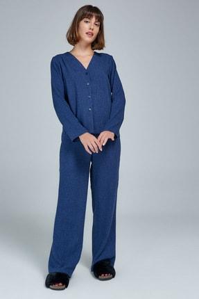 Appleline Düğmeli Pijama Takımı 1