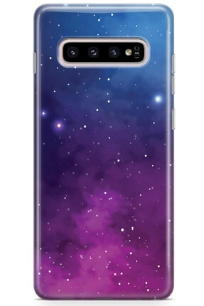 Zipax Huawei Honor 20 Kılıf Galaksi Desenli Baskılı Silikon Kilif - Mel-109517 2