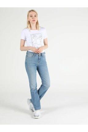 Colin's Regular Fit Düz Paça Yüksek Bel 792 Mila Kadın Jean Pantolon 2