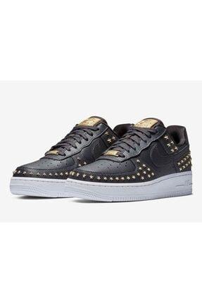 Nike Kadın Siyah Air Force 1 '07 Xx Sneaker Ayakkabı Ar0639-001 1