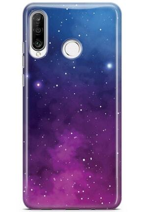 Zipax Samsung Galaxy A91 Kılıf Galaksi Desenli Baskılı Silikon Mel-109517 4