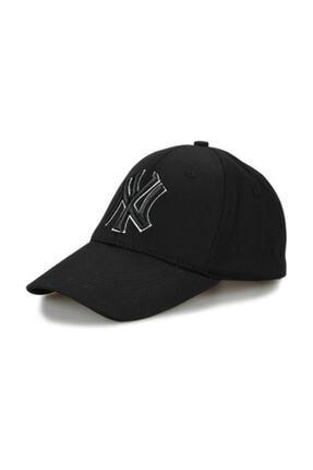 CosmoOutlet NY New York Yankees Siyah Şapka P-080 1