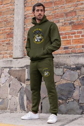 Angemiel Erkek Yeşil Jazz Ve Saksafon Eşofman Takımı 0