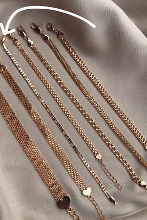 Novon Giyim & Aksesuar 18k Altın Kaplama A+ Kararmama Garantili Premium Zarif Bileklik 2