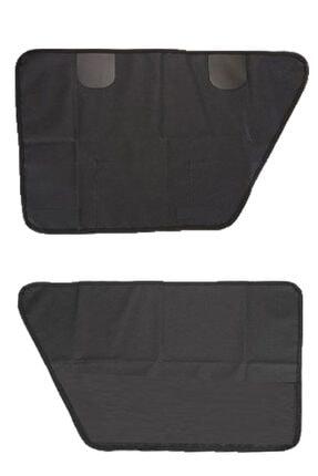 Carneil Siyah Araba Otomobil İçi Evcil Hayvan Kapı Çizik Önleyici Kapı Pedi 990rp 2