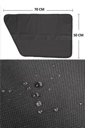 Carneil Siyah Araba Otomobil İçi Evcil Hayvan Kapı Çizik Önleyici Kapı Pedi 990rp 1
