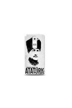 Kılıf Madeni Lg G2 Mustafa Kemal Atatürk Tasarimli Telefon Kilifi Y-ataturk0060 0