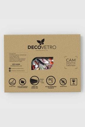 Decovetro Misket Limon Görünümlü | Cam Kesme Tahtası - Kesim Tablası, 20x30 Cm 4
