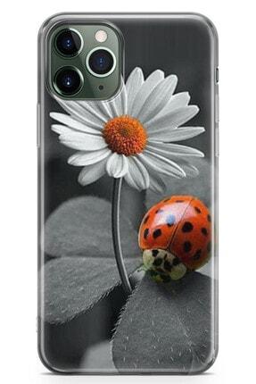 Zipax Samsung Galaxy S20 Ultra Uğur Böceğim Desenli Baskılı Silikon Kılıf 0