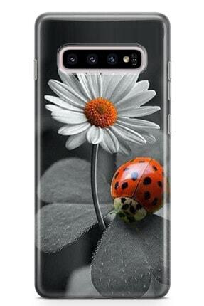 Zipax Samsung Galaxy S20 Ultra Uğur Böceğim Desenli Baskılı Silikon Kılıf 1