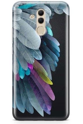 Zipax Huawei Nova 5t Kuş ve Tavşan Desenli Baskılı Silikon Kılıf - Mel-109543 4
