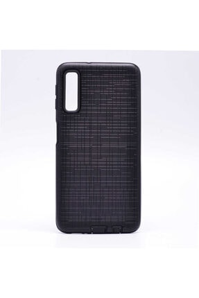 Zore Samsung A7 2018 Siyah Çift Katman Koruyucu Telefon Kılıfı 0
