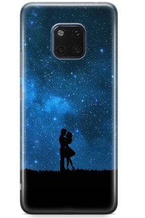 Zipax Samsung Galaxy M11 Kılıf Gece Ve Yarasa Desenli Baskılı Silikon Mel-109518 1