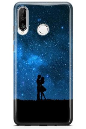 Zipax Samsung Galaxy M11 Kılıf Gece Ve Yarasa Desenli Baskılı Silikon Mel-109518 4