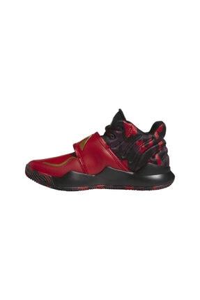 adidas Unisex Kırmızı Deep Threat (gs) Spor Ayakkabı 1