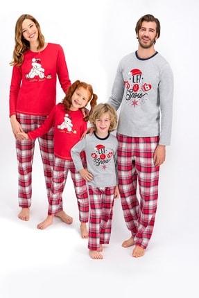 Arnetta Aile Seti Anne Kız Uzun Kol Pijama Takımı ( Fiyatlar Ayrı Ayrıdır ) 0