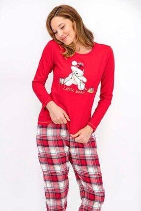 Arnetta Aile Seti Anne Kız Uzun Kol Pijama Takımı ( Fiyatlar Ayrı Ayrıdır ) 2