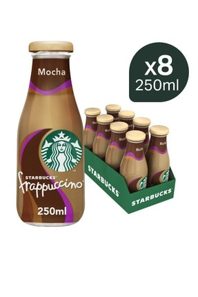 Starbucks Frappuccino Mocha 250 ml x 8 adet 0