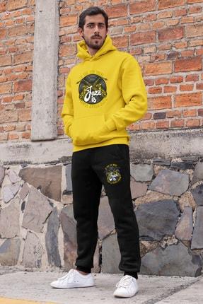 Angemiel Erkek Sarı Jazz Ve Saksafon Eşofman Takımı 0