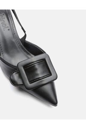 Jorbinol Kadın Siyah Masha Topuklu Ayakkabı 2
