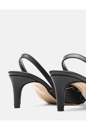 Jorbinol Kadın Siyah Masha Topuklu Ayakkabı 3