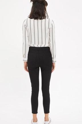 Defacto Kadın Siyah Anna Super Skinny Dokuma Pantolon M2223AZ.20SM.BK27 2