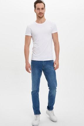 Defacto Erkek Beyaz Basic Slim Fit Body M4820AZ.20SP.WT34 1
