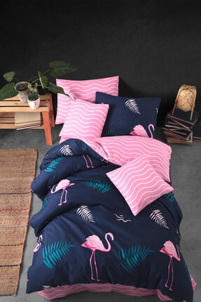 Nakkısh Flamingo Tek Kişilik Nevresim Takımı 0