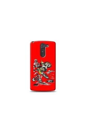 Kılıf Madeni Lg G3 Stylus Motorcu Kırmızı Koleksiyon Telefon Kılıf 0