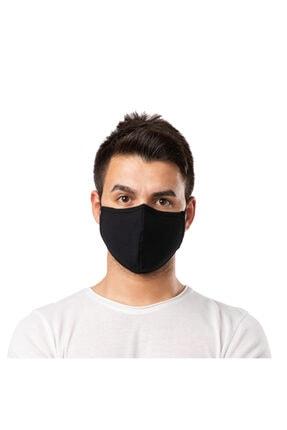 AltınSu Gümüş Iyonlu Antimikrobiyal Koruyucu Yıkanabilir Maske Siyah - M 1