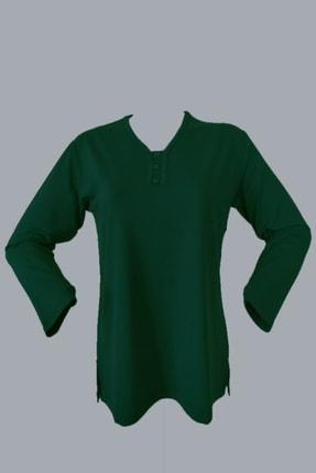 Rüya Kadın Yeşil Anne Penye Bluz 0