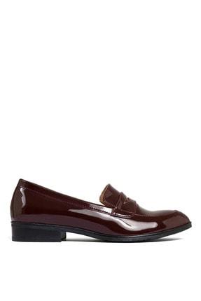 Sole Sisters Kadın Kırmızı Düz Loafer Ayakkabı 0