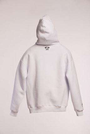 Sleyer Beyaz Bechaos Hoodie Sweatshirt 1
