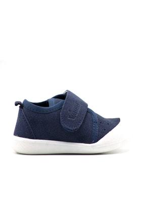 Vicco Unisex Bebek Gri Cırtlı Ayakkabı 1