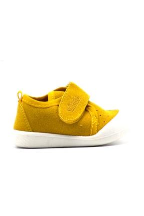 Vicco Unisex Bebek Gri Cırtlı Ayakkabı 3