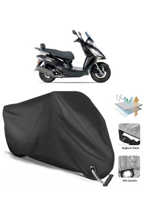 Coverplus Kymco Dink 200i Motosiklet Branda Bağlantı Kilit Uyumlu Siyah Fiyatı Yorumları Trendyol