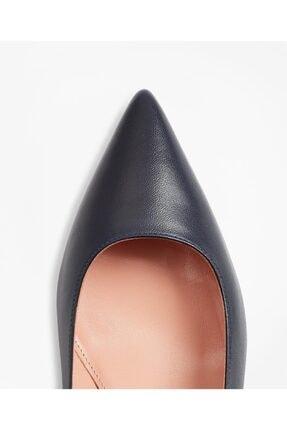 BROOKS BROTHERS Kadın Siyah Kısa Sivri Topuklu Ayakkabı 1