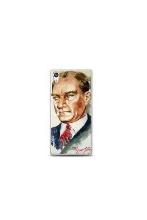 Kılıf Madeni Sony Xperia X Mustafa Kemal Atatürk Tasarimli Telefon Kılıfı 0