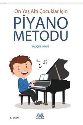 Arkadaş Yayınları On Yaş Altı Çocuklar Için Piyano Metodu 0