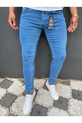 ENERJİN Erkek Mavi Kot Pantolon 0