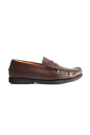Beta Shoes Erkek Bordo Deri Ayakkabı 1