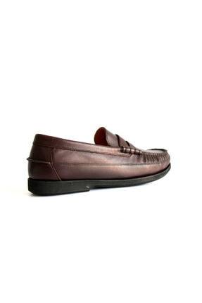 Beta Shoes Erkek Bordo Deri Ayakkabı 2